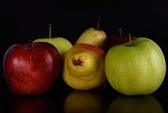 Αχλάδι της Apple Στοκ φωτογραφία με δικαίωμα ελεύθερης χρήσης