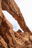 Αψίδα βόρειων παραθύρων στο εθνικό πάρκο αψίδων, Γιούτα Στοκ Εικόνες