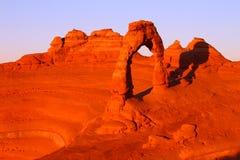 αψίδα λεπτό Utah Στοκ φωτογραφία με δικαίωμα ελεύθερης χρήσης