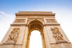 Αψίδα του θριάμβου, Παρίσι Στοκ φωτογραφίες με δικαίωμα ελεύθερης χρήσης