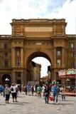 Αψίδα του θριάμβου στη Φλωρεντία - την Ιταλία Στοκ εικόνα με δικαίωμα ελεύθερης χρήσης