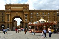 Αψίδα του θριάμβου στη Φλωρεντία - την Ιταλία Στοκ φωτογραφίες με δικαίωμα ελεύθερης χρήσης
