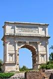 Αψίδα του Titus, Ρώμη στοκ εικόνα με δικαίωμα ελεύθερης χρήσης