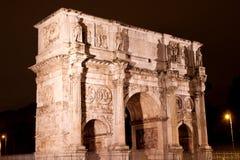 αψίδα Constantine Ρώμη Στοκ Φωτογραφία