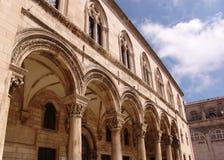 Αψίδα Dubrovnik στοκ φωτογραφίες