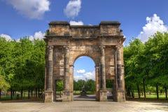 Αψίδα McLennan στη Γλασκώβη πράσινη, Σκωτία στοκ εικόνα με δικαίωμα ελεύθερης χρήσης