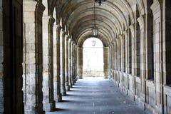 Αψίδες του παλατιού Rajoy, Σαντιάγο de Compostela Στοκ Φωτογραφία