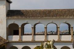 Αψίδες του Generalife στην Ισπανία, μέρος Alhambra Στοκ εικόνες με δικαίωμα ελεύθερης χρήσης