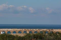 Αψίδες υδραγωγείων στην Καισάρεια, Ισραήλ Στοκ φωτογραφίες με δικαίωμα ελεύθερης χρήσης