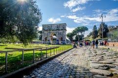 Αψίδα θριάμβου της Ρώμης Στοκ εικόνες με δικαίωμα ελεύθερης χρήσης