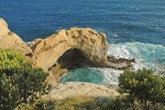 Αψίδα κατά μήκος της ζαλίζοντας ακτής Βικτώριας, Αυστραλία στοκ εικόνες με δικαίωμα ελεύθερης χρήσης