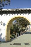 Αψίδα μιας μικρής γέφυρας στοκ εικόνα