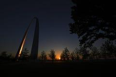 Αψίδα πυλών στο Σαιντ Λούις, Μισσούρι Στοκ Φωτογραφίες