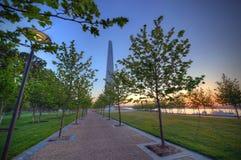Αψίδα πυλών στο Σαιντ Λούις, Μισσούρι Στοκ φωτογραφία με δικαίωμα ελεύθερης χρήσης