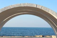 Αψίδα στην παραλία Στοκ Φωτογραφίες