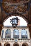 Αψίδα στο παλάτι Archiginnasio στη Μπολόνια Στοκ φωτογραφίες με δικαίωμα ελεύθερης χρήσης