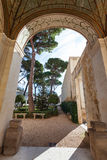 Αψίδα της βίλας Giulia, Ρώμη arcade Στοκ Εικόνες