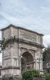 Αψίδα της Ρώμης του Titus Στοκ φωτογραφία με δικαίωμα ελεύθερης χρήσης