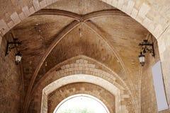 Αψίδα του Burgos Arco de Σάντα Μαρία στην Καστίλλη Ισπανία Στοκ Φωτογραφίες