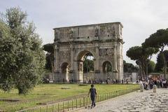 Αψίδα του Constantine, Ρώμη, Ιταλία Στοκ Φωτογραφία