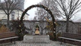αψίδα Χριστουγέννων, Στοκ Φωτογραφία