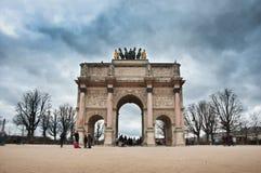 Αψίδα Carroussel στο Παρίσι Στοκ Εικόνα