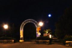 Αψίδα Jean-Drapeau Parc Στοκ φωτογραφίες με δικαίωμα ελεύθερης χρήσης