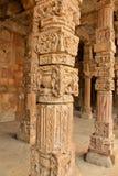 Αψίδα Qutub Minar, Δελχί Στοκ εικόνα με δικαίωμα ελεύθερης χρήσης