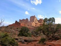 Αψίδες και εθνικό πάρκο Moab Γιούτα Canyonlands στοκ εικόνες με δικαίωμα ελεύθερης χρήσης