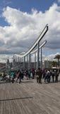 αψίδες και καμπύλες στη Βαρκελώνη Στοκ εικόνα με δικαίωμα ελεύθερης χρήσης