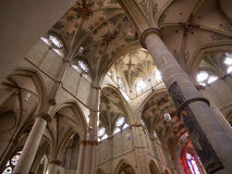 Αψίδες μέσα στην εκκλησία Liebfrauen στην Τρίερ, Γερμανία Στοκ Φωτογραφία