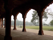 Αψίδες σε Taj Mahal Στοκ φωτογραφίες με δικαίωμα ελεύθερης χρήσης