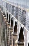Αψίδες του Pontcysyllte aquaduct στην Ουαλία Στοκ φωτογραφία με δικαίωμα ελεύθερης χρήσης