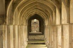 Αψίδες Jal Mahal Madhya Pradesh Στοκ φωτογραφία με δικαίωμα ελεύθερης χρήσης