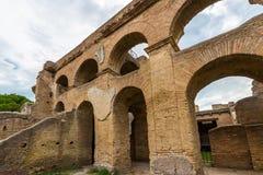 Αψίδες, Ostia Antica Ιταλία Στοκ Εικόνες