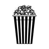 λαϊκό απομονωμένο καλαμπόκι εικονίδιο Στοκ εικόνα με δικαίωμα ελεύθερης χρήσης