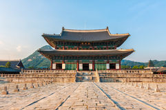 λαϊκό εθνικό παλάτι μουσείων της Κορέας gyeongbokgung στοκ εικόνες με δικαίωμα ελεύθερης χρήσης