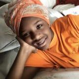 Αϊτινός πρόσφυγας Στοκ Εικόνες