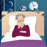 Αϋπνία πάλης Στοκ Εικόνα