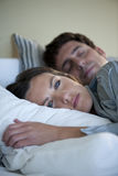 Αϋπνία Στοκ εικόνα με δικαίωμα ελεύθερης χρήσης
