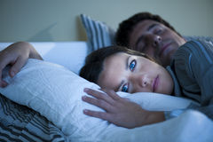Αϋπνία Στοκ Εικόνες