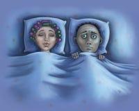 Αϋπνία διανυσματική απεικόνιση