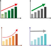 Αύξηση επάνω δυναμική ανάπτυξη σχέδιο ελεύθερη απεικόνιση δικαιώματος