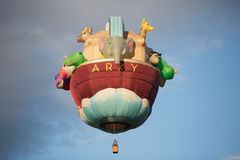 Αύξηση μπαλονιών στρατού Στοκ Εικόνες