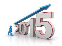 Αύξηση 2015 ελεύθερη απεικόνιση δικαιώματος
