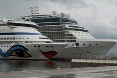 Αύρα της Aida κρουαζιερόπλοιων Στοκ εικόνα με δικαίωμα ελεύθερης χρήσης