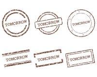 Αύριο γραμματόσημα Στοκ Φωτογραφία