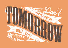 Αύριο στοκ εικόνες