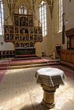 Αλλάξτε ενισχυμένη στη Biertan εκκλησία, Ρουμανία Στοκ Φωτογραφία