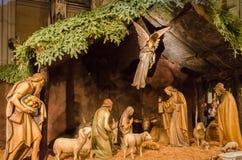 Αλλάξτε και παχνί Χριστουγέννων στον καθεδρικό ναό Αγίου Πάτρικ ` s Στοκ φωτογραφία με δικαίωμα ελεύθερης χρήσης